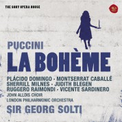Sir Georg Solti, Placido Domingo, Montserrat Caballé, London Philharmonic Orchestra: Puccini: La Boheme - CD