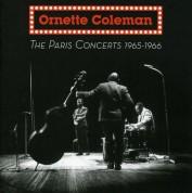 Ornette Coleman: The Paris Concerts 1965-1966 - CD