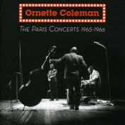 Ornette Coleman: The Paris Concerts 1965-1966 - CD