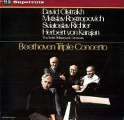 David Oistrakh, Mstislav Rostropovich, Sviatoslav Richter, Herbert Von Karajan: Beethoven: Triple Concerto - Plak