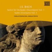 Jaroslav Dvorak: Bach, J.S.: Overtures (Orchestral Suites) Nos. 1, 2, 5 - CD