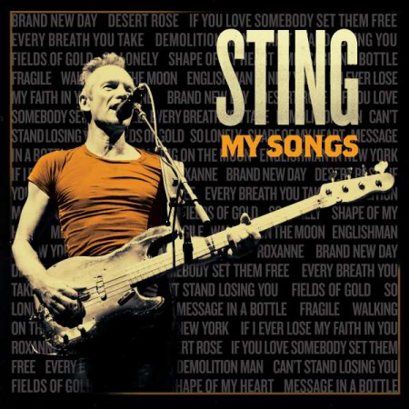 Sting: My Song - Plak