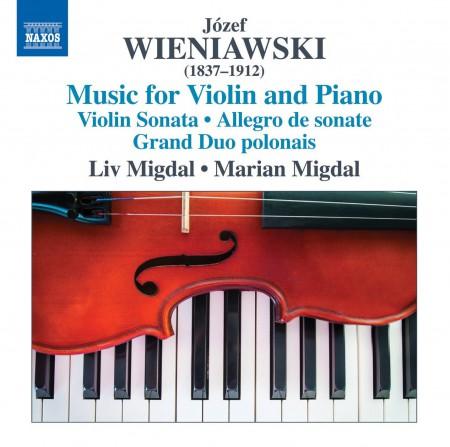 Liv Migdal, Marian Migdal: Wieniawski: Music for Violin and Piano - CD