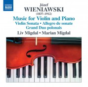 Liv Migdal, Marian Migdal: Wieniawski: Music for Violin and Piano - CD