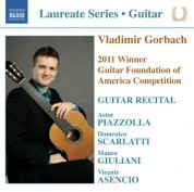 Vladimir Gorbach Guitar Recital - CD