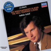 András Schiff: The Well-Tempered Clavier - CD