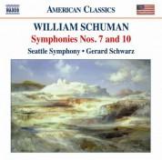 Gerard Schwarz: Schuman, W.: Symphonies Nos. 7 and 10 - CD