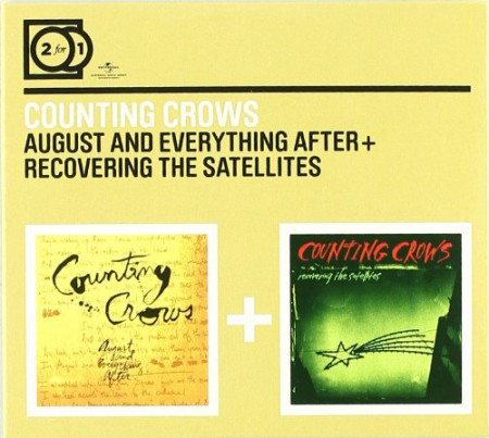 Counting Crows: August And Eveything After/Recovering The Satellites - CD