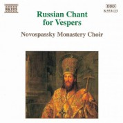 Russian Chant for Vespers - CD
