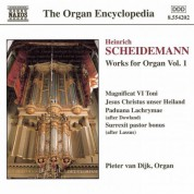 Pieter van Dijk: Scheidemann: Organ Works, Vol.  1 - CD