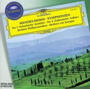 Berliner Philharmoniker, Herbert von Karajan: Mendelssohn: Symphonies Nos. 3 + 4 - CD