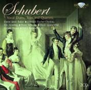 Elly Ameling, Dame Janet Baker, Peter Schreier, Horst Laubenthal, Dietrich Fischer-Dieskau, RIAS Kammerchor, Gerald Moore: Schubert: Duette, Terzette, Quartette - CD