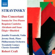 Robert Craft: Stravinsky: Duo Concertant - CD