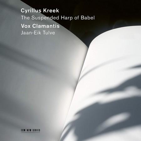 "Vox Clamantis, Jaan-Eik Tulve: ""The Suspended Harp of Babel"" - CD"