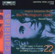 Bach Collegium Japan, Masaaki Suzuki: J.S. Bach: Cantatas, Vol. 22 (BWV 20, 7, 94) - CD
