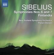 Pietari Inkinen: Sibelius: Symphonies Nos. 6 & 7 - Finlandia - CD