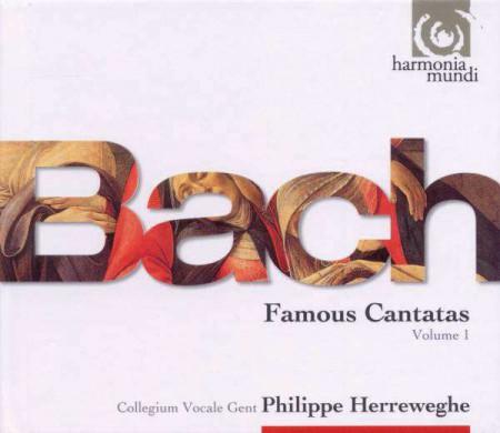 Philippe Herreweghe: J.S. Bach: Cantatas vol.1 - CD