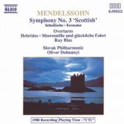 Mendelssohn: Symphony No. 3, 'scottish' / The Hebrides / Meeresstille Und Gluckliche Fahrt - CD