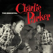 Charlie Parker: The Immortal Charlie Parker + 6 Bonus Tracks! In Solid Green Virgin Vinyl. - Plak