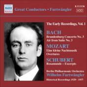 Wilhelm Furtwängler: Bach, J.S.: Brandenburg Concerto No. 3 / Mozart, W.A.: Eine Kleine Nachtmusik / Schubert: Rosamunde (Excerpts) - CD