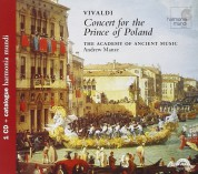 The Academy of Ancient Music, Andrew Manze: Vivaldi: Concert for the Prince of Poland - CD