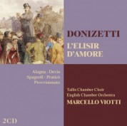 Roberto Alagna, Marcello Viotti, English Chamber Orchestra: Donizetti: L'elisir D`Amore - CD