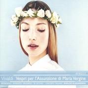 Concerto Italiano, Rinaldo Alessandrini: Vivaldi: Vespri Per L'assunzione Di Maria - CD