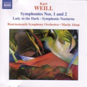 Weill: Symphonies Nos. 1 and 2 / Lady in the Dark - Symphonic Nocturne - CD