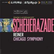 Fritz Reiner, Chicago Symphony Orchestra: Rimsky-Korsakoff: Scheherazade (200 g - 45 RPM - Plak