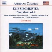Siegmeister: Piano Music, Vol.  2 - CD