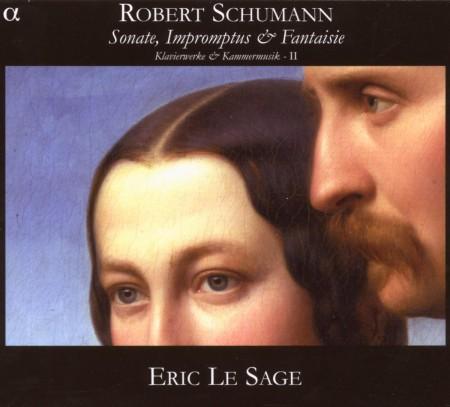 Eric Le Sage: Schumann: Sonate, Impromptus & Fantaisie - Klavierwerke & Kammermusick II - CD