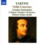 Ariadne Daskalakis: Tartini, G.: Violin Concertos - CD