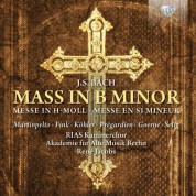 RIAS Kammerchor, Akademie für Alte Musik Berlin, René Jacobs: J.S. Bach: Mass in B minor - CD