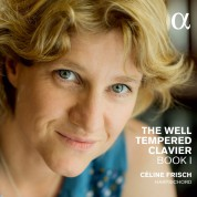 Celine Frisch: J.S. Bach: The Well-Tempered Clavier Book I - CD