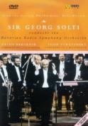 Bavarian Radio Symphony Orchestra, Sir Georg Solti: Bruckner/ Stravinsky: Sypmhony No.3 / Symphony In Three Movements - DVD