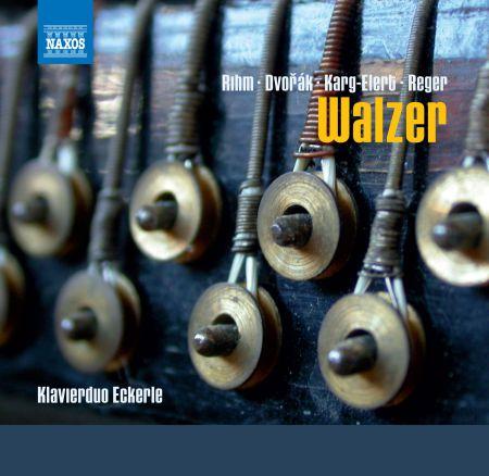Klavierduo Eckerle: Walzer fur Klavier zu vier Handen - CD