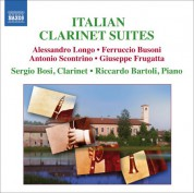 Sergio Bosi: Italian Clarinet Suites - CD