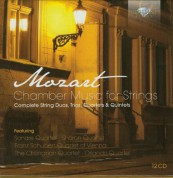 Sonare Quartet, Franz Schubert Quartet of Vienna, Sharon Quartet, The Chilingirian Quartet, Orlando Quartet: Mozart: Chamber music for strings - CD