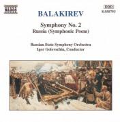 Russian State Symphony Orchestra, Igor Golovschin: Balakirev: Symphony No. 2, Russia - CD