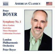 Peter Boyer, London Philharmonic Orchestra: Boyer: Symphony No. 1 - CD