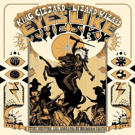 King Gizzard and the Lizard Wizard: Eyes Like The Sky (Reissue - Orange Vinyl) - Plak