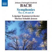 Morten Schuldt-Jensen: Bach: Symphonies, Nos. 6, 10, 20 - CD