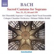 Siri Karoline Thornhill: Bach, J.S.: Sacred Cantatas for Soprano - CD
