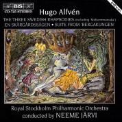 Royal Stockholm Philharmonic Orchestra, Neeme Järvi: Alfvén: Three Swedish Rhapsodies - CD