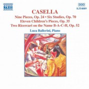 Luca Ballerini: Casella: Piano Music - CD