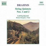 Brahms: String Quintets Nos. 1 and 2 - CD