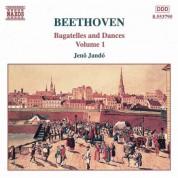 Beethoven: Bagatelles and Dances, Vol.  1 - CD
