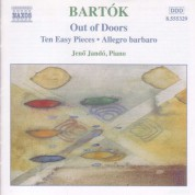 Jenö Jandó: Bartok: Piano Music, Vol. 3: Out of Doors - Ten Easy Pieces - Allegro Barbaro - CD