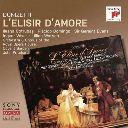 Ileana Cotrubas, Plácido Domingo, John Pritchard, Orchestra & Chorus of the Royal Opera House, Covent Garden: Donizetti: L'elisir d'amore - CD