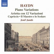 Haydn: Piano Variations - CD